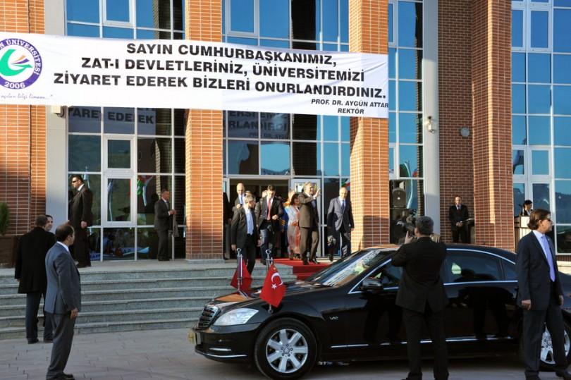 Cumhurbaşkanı Abdullah Gül Giresun Üniversitesi