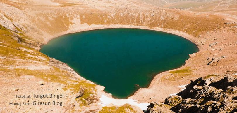 Giresun Karagöl Dağları Sağrak Gölü