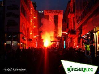 Giresunspor Şampiyon - Gazi Caddesi