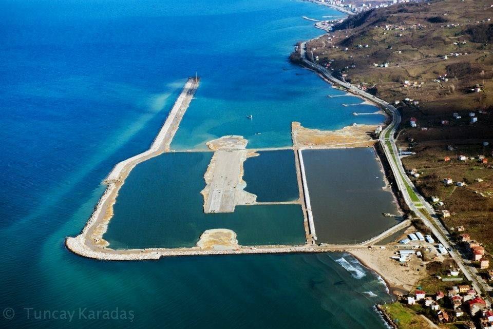 Ordu - Giresun Havaalanı havadan